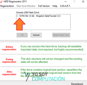 hdd regenerator usb booteable